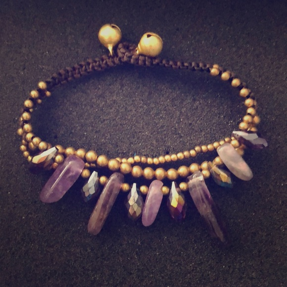 cf512b18bd001 Layered purple gem bracelet